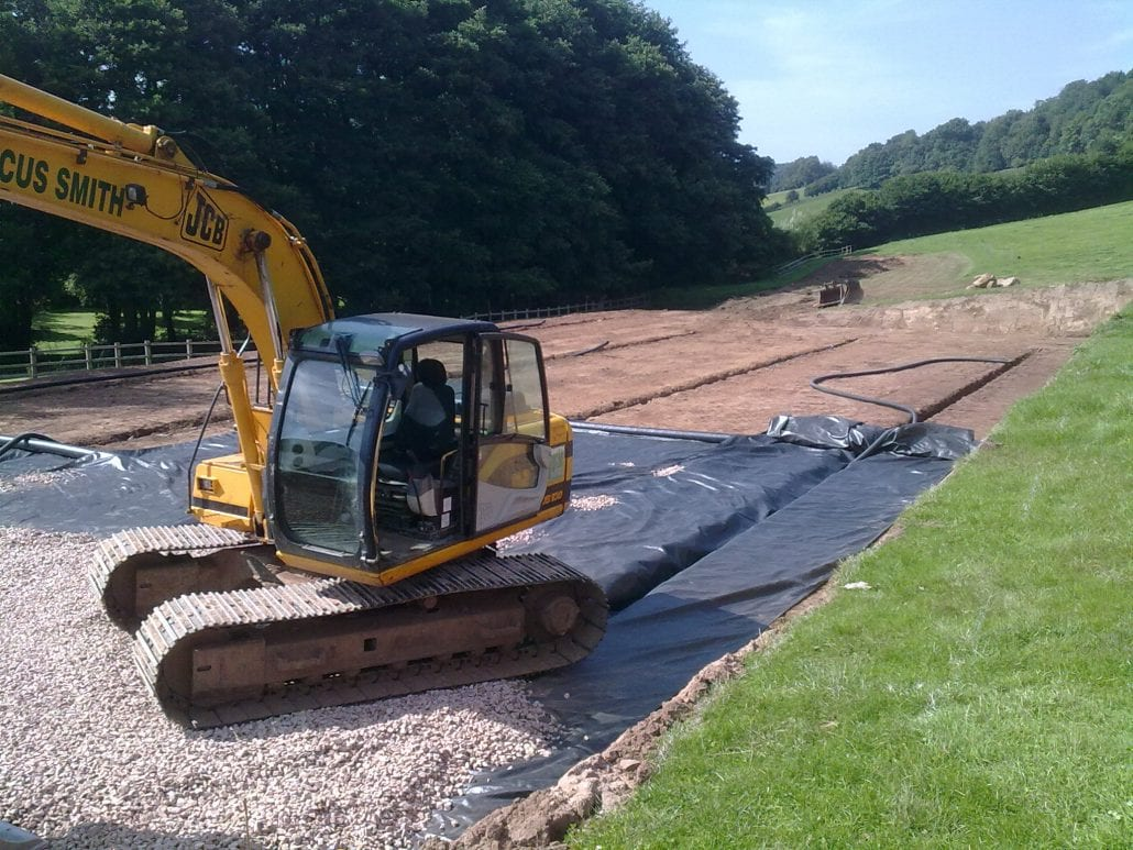 Outdoor Horse Arenas | Gloucestershire | Marcus Smith