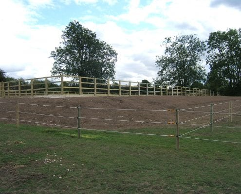 Electric fencing for horse paddocks in Gloucestershire