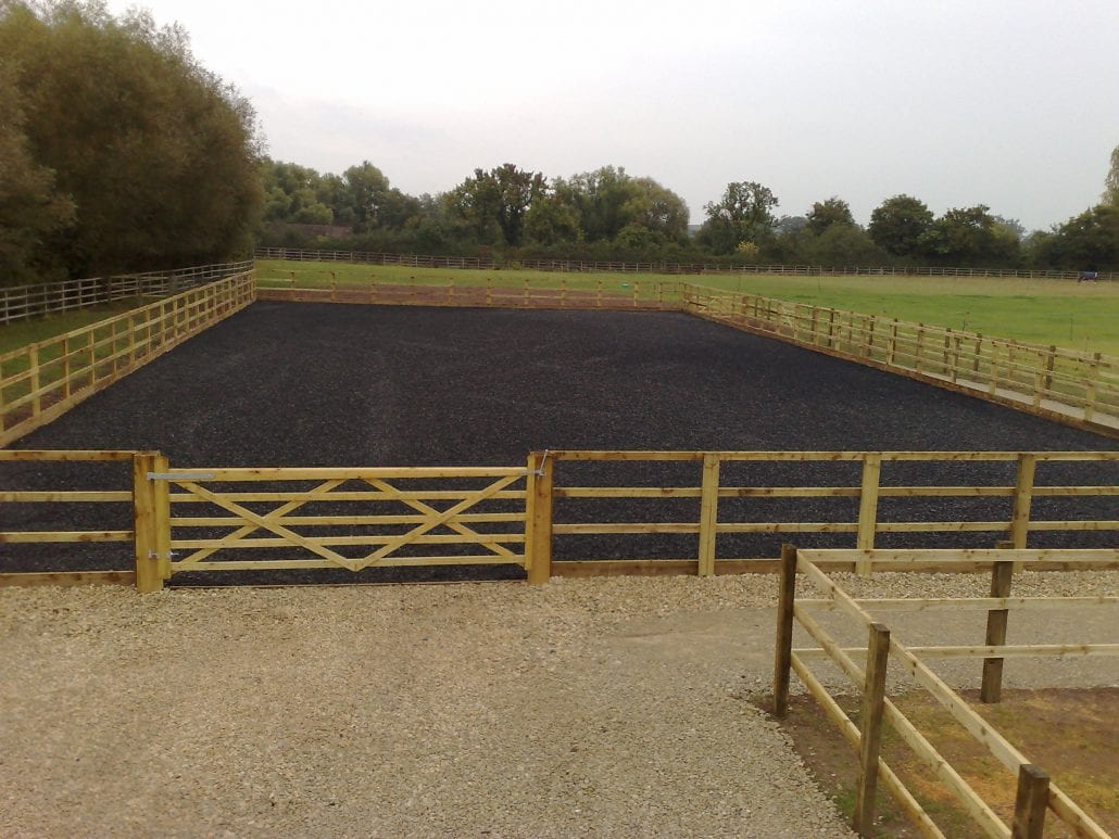 Outdoor Horse Arenas Gloucestershire Marcus Smith