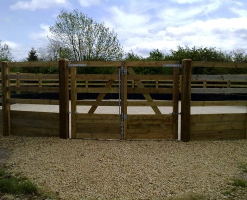 Lunge pen for horses Gloucestershire